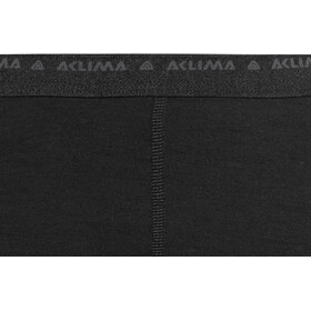 Aclima LightWool Short long Femme, jet black